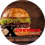 Logotipo X Gourmet Hamburgueria