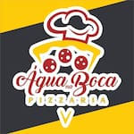 Logotipo Agua na Boca Pizzaria