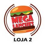 Logotipo Mega Lanches Loja 2