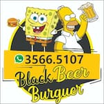 Logotipo Black Beer Burguer
