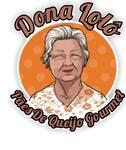Logotipo Dona Lolô Pães de Queijo Gourmet