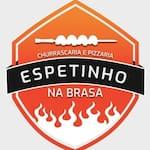 Logotipo Espetinho na Brasa(bar do Romualdo)