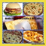 Logotipo Bimba & Seni Hamburgueria Pizzaria