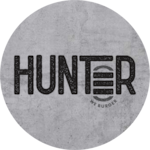 Logotipo Hunter Burger - Hamburgueria Artesanal