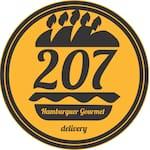 Logotipo Hamburgueria 207