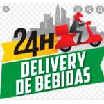 Logotipo 24h Delivery de Bebidas