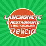 Logotipo Restaurante e Lanchonete Delicia