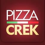 Logotipo Pizza Crek - Curitiba