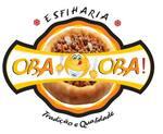 Logotipo Oba-oba Pizzaria e Esfiharia