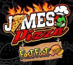 Logotipo James Pizza