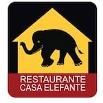 Logotipo Restaurante Casa Elefante