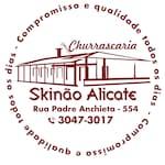Logotipo Churrascaria Skinao Alicate