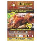 Logotipo Jm Delicias de Frango Assado