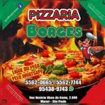 Logotipo Pizzaria Borges