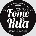 Logotipo Fome de Rua Food Truck