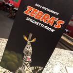 Logotipo Zebra's Spaguett Show