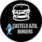 Logotipo Castelo Azul Burgers