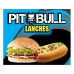 Logotipo Pit Bull Lanches, Panquecas e Marmitex