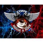 Logotipo Coffe House & Rock