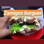 Logotipo Zamigos Burguer
