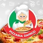 Logotipo Pizzaria Damico