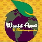 Logotipo World Açaí & Hamburgueria