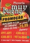 Logotipo Pizzaria Muy Bueno