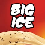 Logotipo Big Ice Lanchonete Sorveteria e Açaí