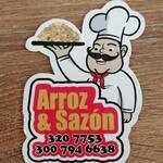 Logotipo Arroz y Sazon