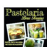 Logotipo Caldo de Cana e Pasteis Lima Ferreira