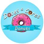 Logotipo Doces e Cores Donuts