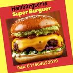 Logotipo Hamburgueria Super Burguer