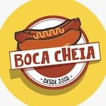 Logotipo Lanchonete Boca Cheia