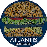 Logotipo Atlantis Burguer