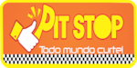Logotipo Pit Stop Lanches e Petiscos