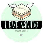 Logotipo Leve Sando - Sanduíche Oriental