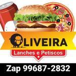 Logotipo Oliveira's Lanches e Petiscos.