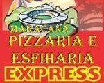 Logotipo Esfiharia e Pizzaria Maracanã