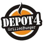 Logotipo Depot4 Grilled Burger Tatuapé