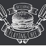 Logotipo Artesanal Playing Chef