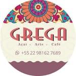 Logotipo Grega Açaí Arte e Café