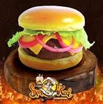 Logotipo Smoked Burger