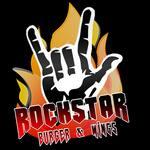 Logotipo Rockstar Burguer & Wings