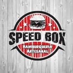 Logotipo Speed Box Hamburgueria Artesanal
