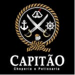 Logotipo Capitão Choperia e Petiscaria
