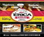 Logotipo Éricas Lanches Batata Rostir e Tapioca