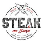 Logotipo Steak na Brasa
