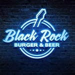 Logotipo Blackrock Burger & Beer - Bosque Maia