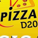 Logotipo Pizza D20