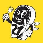 Logotipo Restaurante 21